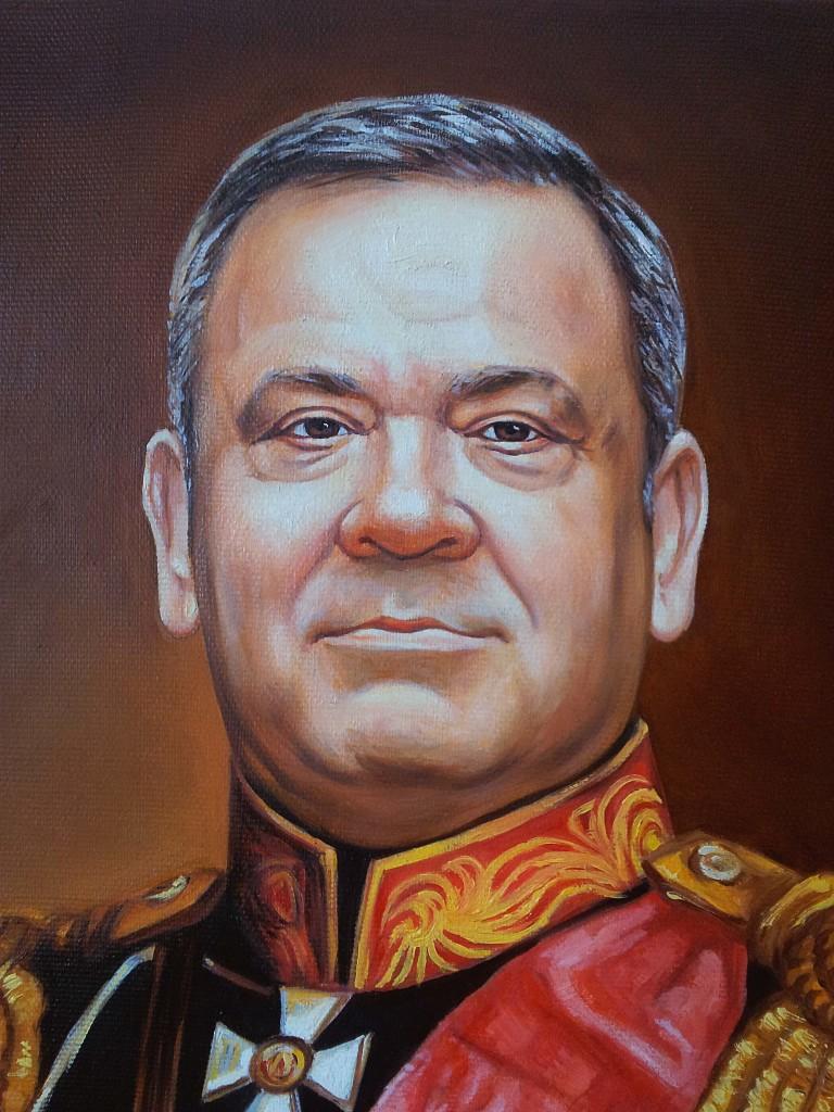 Портрет маслом на холсте в Чебоксарах