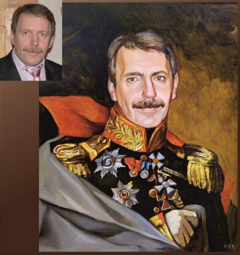 Настоящий портрет маслом на заказ в Чебоксарах…