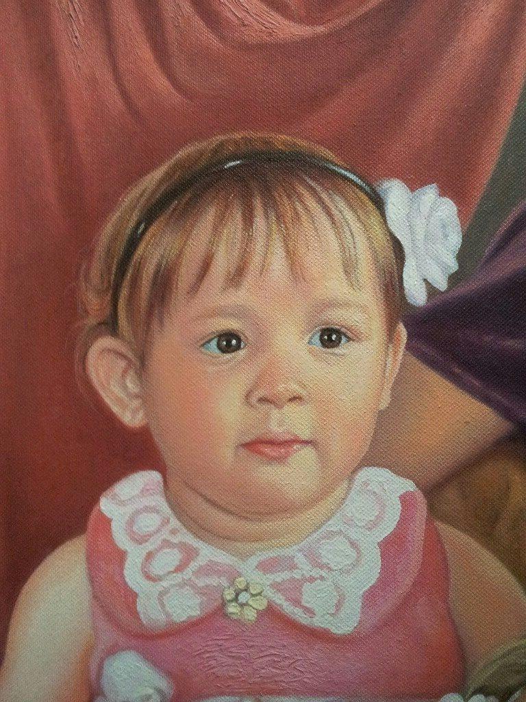 Портрет маслом семейный Чебоксары