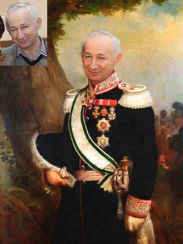 Где заказать исторический портрет по фото на холсте в Чебоксарах?