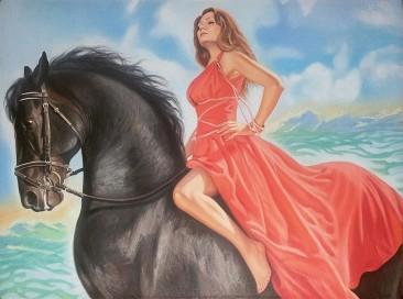 Настоящий портрет маслом на холсте в Чебоксарах…