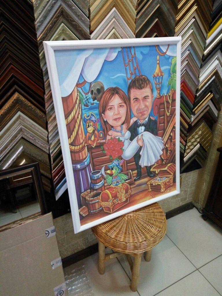 портрет шарж на заказ в Чебоксарах