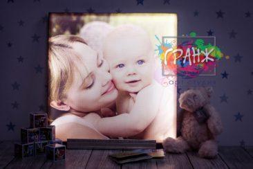 Фото светильник — картина с подсветкой по фотографии