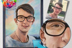 Портретная живопись маслом, купить в Чебоксарах