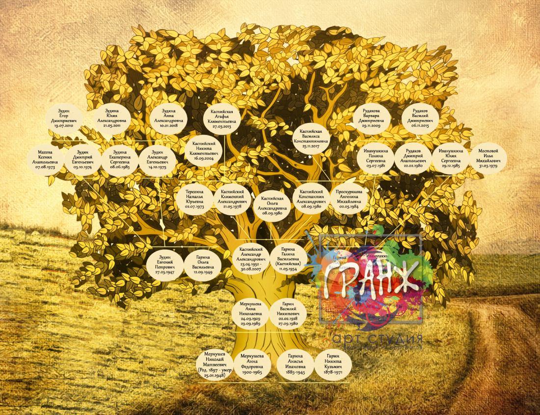 генеалогическое древо